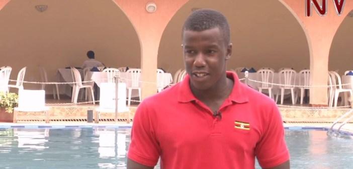 19 year old swimmer Joshua Ekirikubinza to represent Uganda at Rio olympics