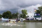 Race Hoorn, Netherlands LEN 2016 European Open Water Swimming Championships Open Water Swimming Women's 25km Day 04 14-07-2016 Photo Giorgio Perottino/Deepbluemedia/Insidefoto