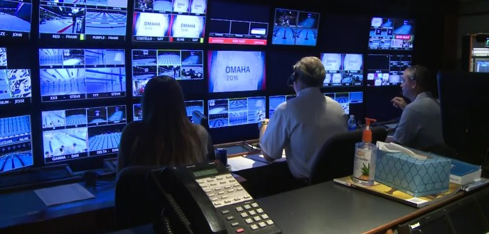 Behind the scenes with NBC at the Swim Trials