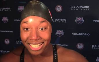 First-Time Olympic Swimmer Simone Manuel Is Perfectly Nicknamed 'Swimone'