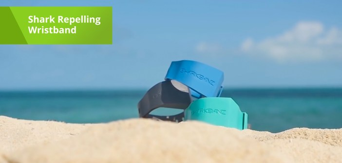 This Wristband Can Repel Sharks While You're Swimming