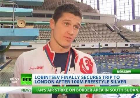 USADA says banned Russia swimmer Nikita Lobintsev failed drug test