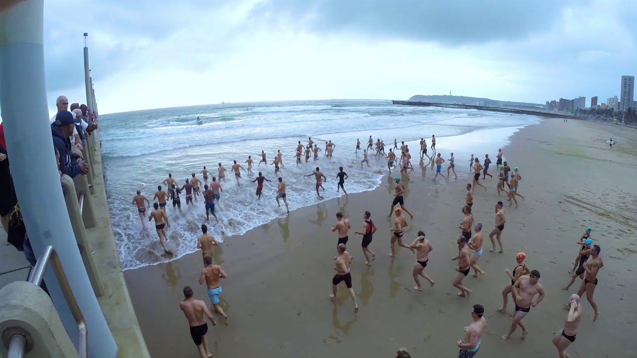 Durban Surf Lifesaving Club presents – 25 Piers swim 2015
