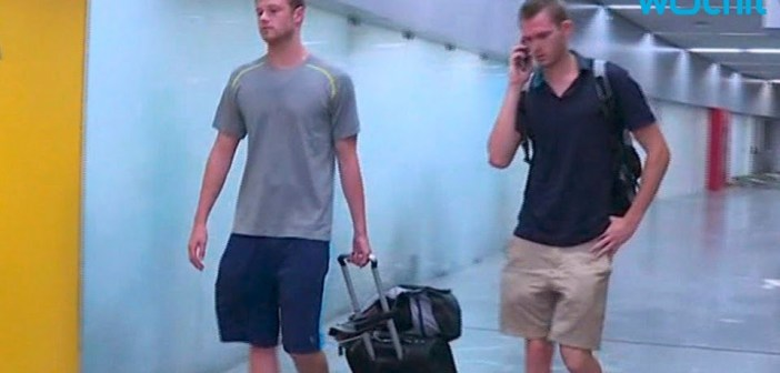 Jack Conger, Gunnar Bentz Detained at Rio Airport; Ryan Lochte Speaks Out