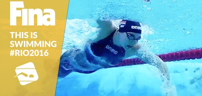 This is Swimming! Get ready for Rio 2016