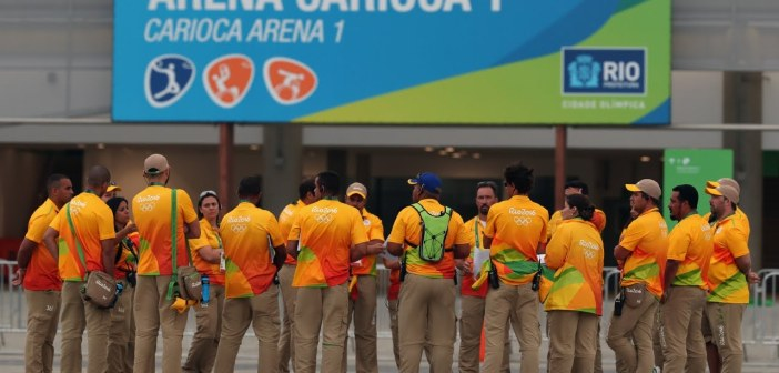 15,000 Olympics volunteers have quit due to poor working conditions