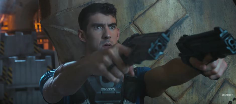 Michael Phelps Stars In 'Call Of Duty: Infinite Warfare's Hilarious Live-Action Trailer