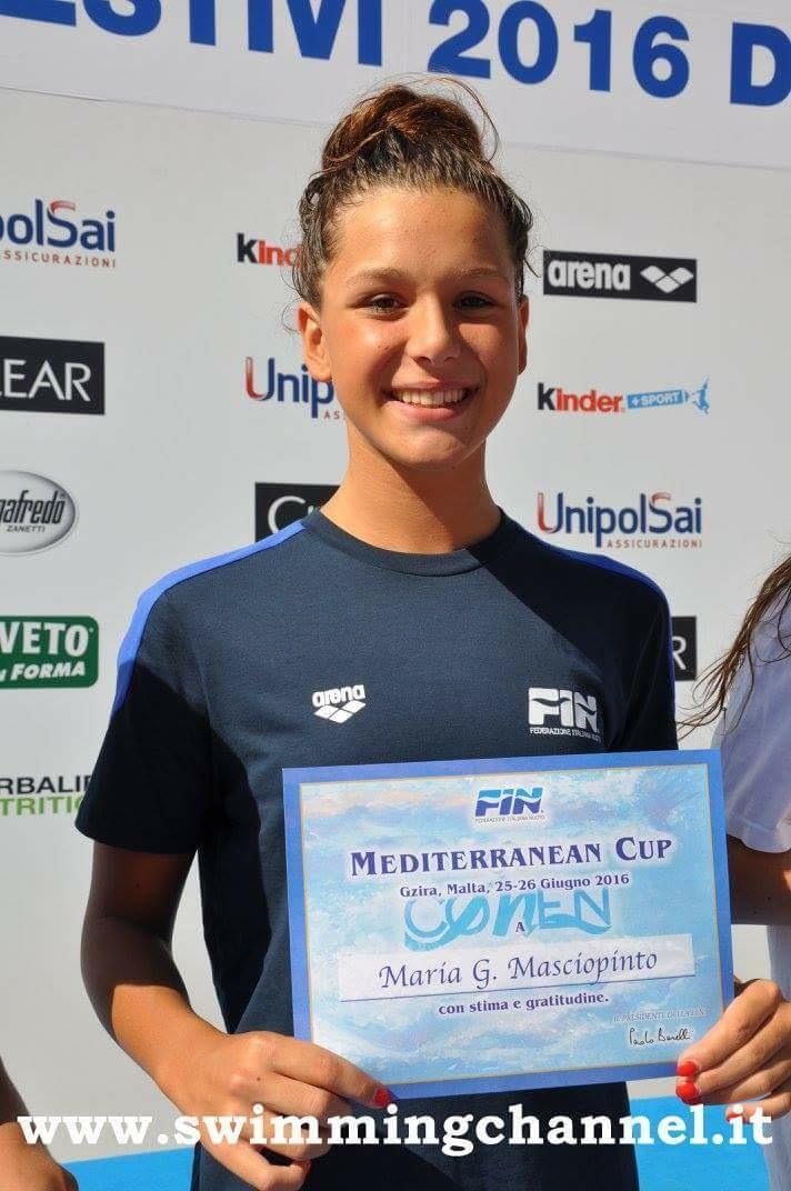 Maria Ginevra Masciopinto - PH.Swimmingchannel.it