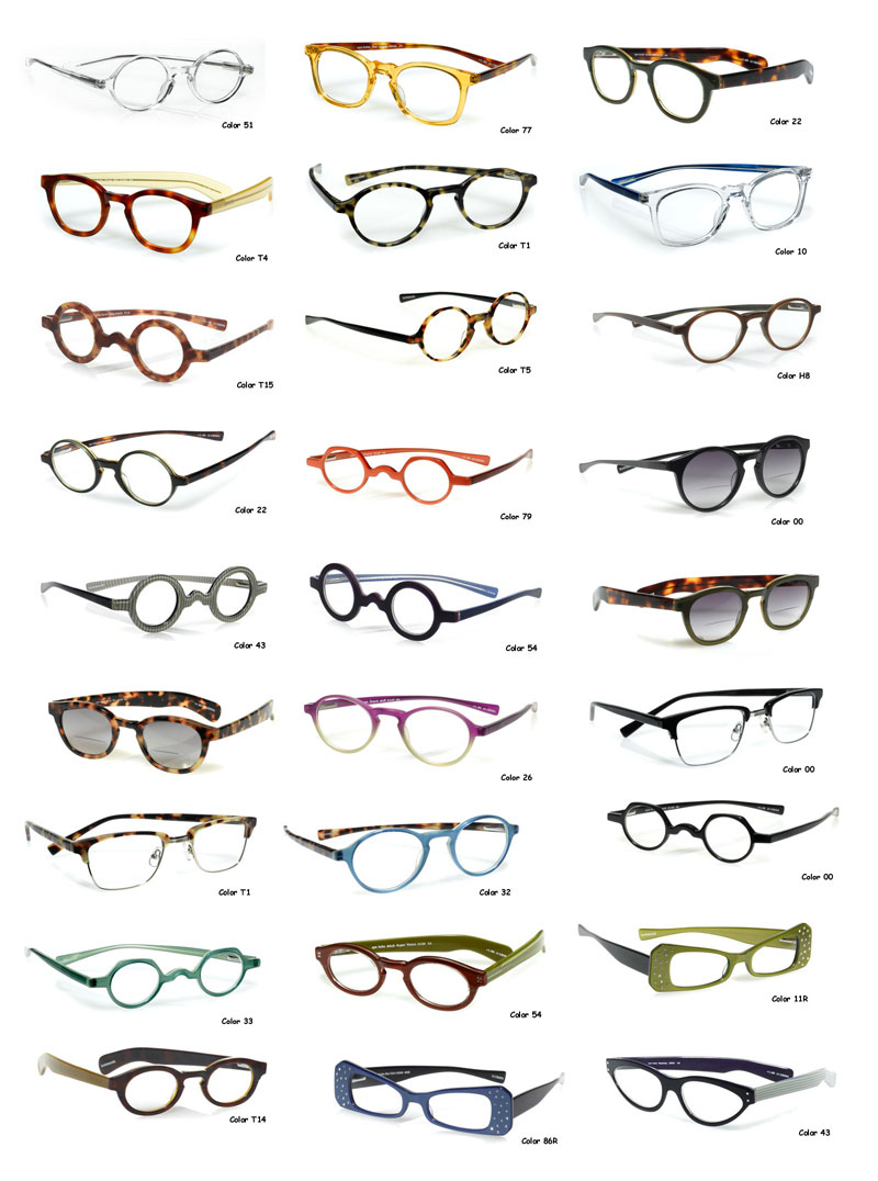 Glasses Frames That Separate In The Middle : spectacles : Swing Fashionista