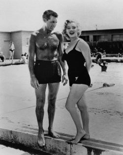 Marilyn Monroe with Cary Grant