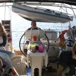 Overfarten fra Sardinia til Menorca