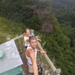 Spektaktulær mirador på verdens bratteste øy, La Palma.