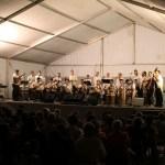 Lokalfestival, ja Ingunn måtte sove med ørepropper og hørselsvern ;)