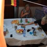 Vi traff på Tonje fra Ariane på kaia, og vips var vi invitert på bursdagsfeiring til Jakob som ble 9 år! Utrolig hyggelig feiring ombord i Ariane i Mogan.