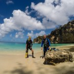Å dykke fra en perfekt strand er ikke så halveis, uheldigvis har de ikke så mye å tilby under overflaten i Anguilla...