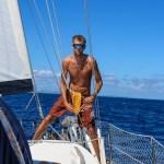 """Skipper'n heiser """"klar -til-innsjekking-flagget"""""""
