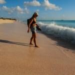For en strand og for noen bølger