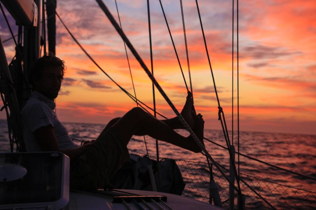 Skippern i sitt ess....