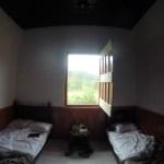 Rommet vi leide oss inn på fincaen Mocambo