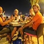 Herremåltid på Barefoot Restaurant