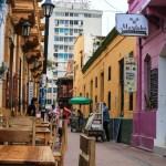 Koselig gate i Santa Marta