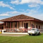 """Den flotte """"fincaen"""" vi bodde på, Mocambo"""