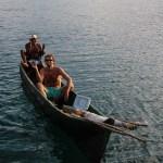 Stolt skipper med egen fanget bonita (en type tunfisk) sammen med Argin. Livet er herlig!