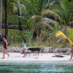 Heldige indianere og Wilson (hunden) som bor i Drømmeparadis