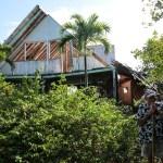 Jim og Laura kjente veien ti Pablo Escobars hus på toppen av Santa Catalina. #viover60