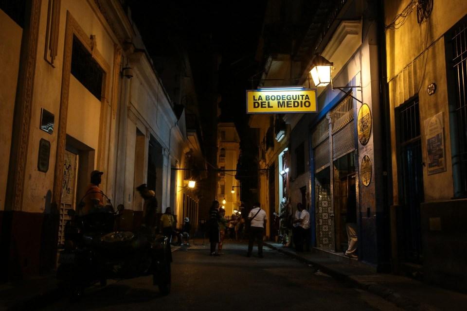 Ernest Hemingways favoritt bar, et must å drikke mojito her.