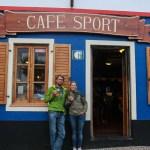 Obligatorisk besøk på Peter's Cafe Sport i Horta, Faial, Azorene.