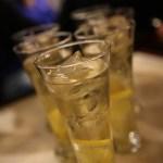 Gin do mar passer fint som ankerdram når man har krysset Atlanterhavet :)