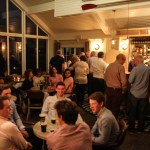 Banketten for vennskapsregattaen Red Bay yachtklubb hadde med en seilerklubb i Skottland.