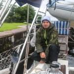 Morten klar som kanalslask i Caledonia-kanalen