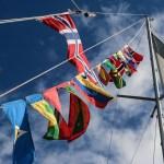 Flaggrekka må opp siste seilas mot Langesund