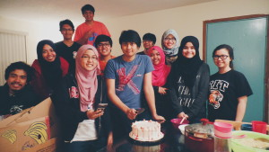 Celebrated Aiman's 21st birthday :)