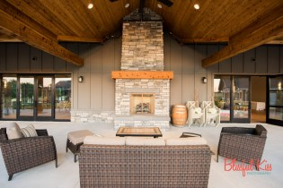 Estate Room Patio and Outdoor Fireplace