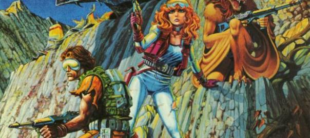 2nd edition cover of Star Frontiers