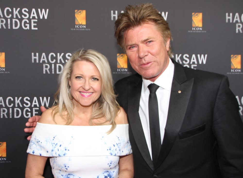 Angela Bishop and Richard Wilkins.