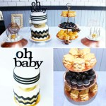 Modern+Gender+Nuetral+Baby+Shower+Dessert+Table