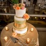 Carribean+Island+Inspired_Wedding+Cake_Fresh_Flowers