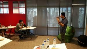 Co-Speaker at a Workshop of IK Institute of Business, Dubai - October 2016