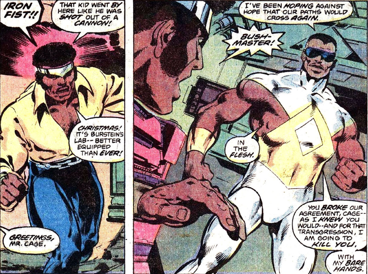 Who is Bushmaster  A guide to Luke Cage Season 2 s new villain Who     Bushmaster 2
