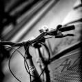 Bicyclette reims noir et blanc