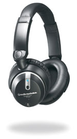 Audio Technica noise-cancelling headphones