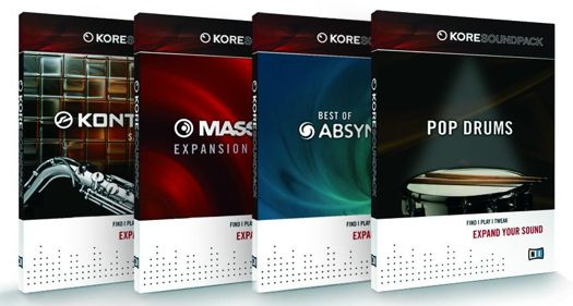 Native Instruments Kore Soundpacks