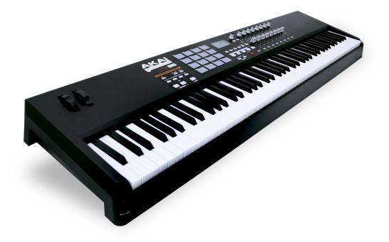 akai-mpk88-control-keyboard