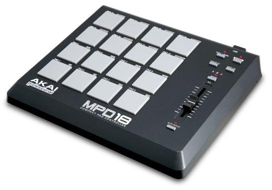 akai-mpd18-compact-pad-controller