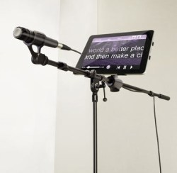 iKlip iPad mic stand adapter