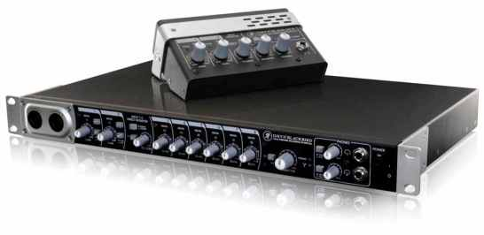 Mackie Onyx Blackjack & Blackbird Audio Interfaces